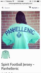panhellenic spirit jersey,panhellenic sorority spirit jersey