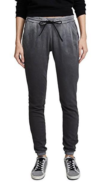 Cotton Citizen sweatpants vintage light grey pants