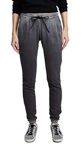 sweatpants vintage light grey pants