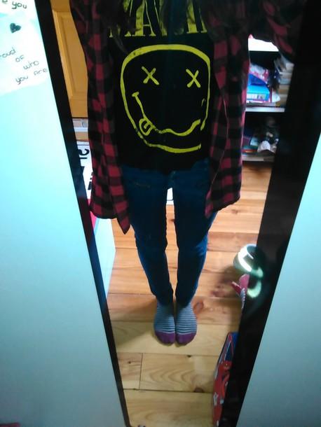 top nirvana t-shirt
