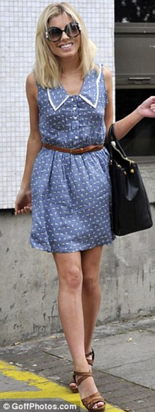 mollie king blue dress