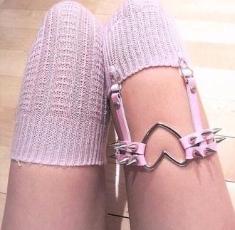home accessory pink underwear socks rose baddies