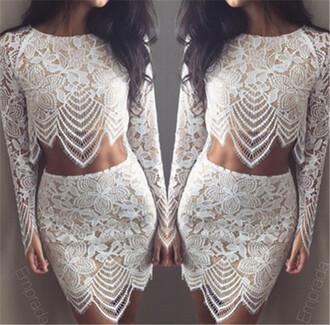 shirt short skirts long sleeve skirts two piece set skirt asymmetrical skirt crochet shorts
