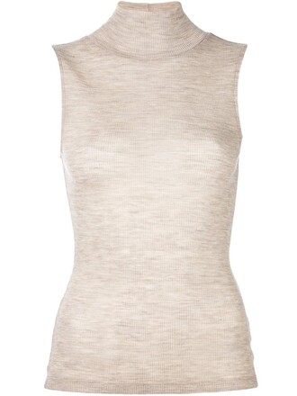 top knit nude