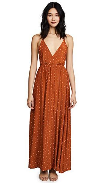 FAITHFULL THE BRAND dress maxi dress maxi print