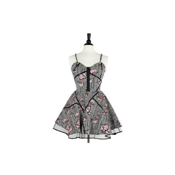 Dusty rose flair dress
