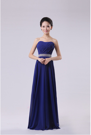 Shipping, 6 Colors Tube Top Long Design Bridesmaid Dress Party ...