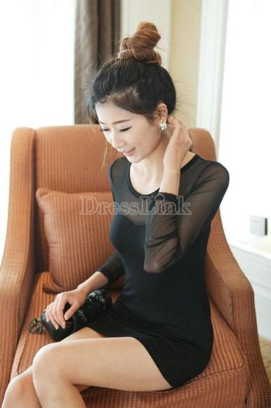 dresslink little black dress dress black