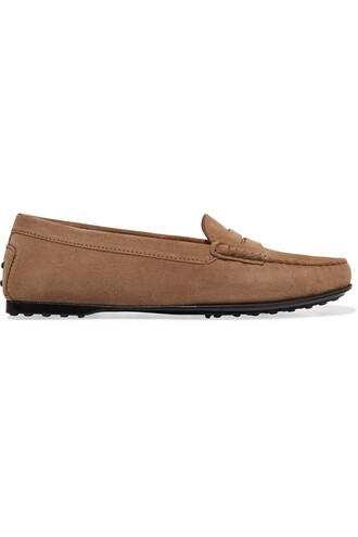 loafers suede beige shoes