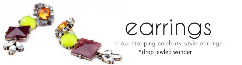 Buy Earrings for Women Online, Shop Dangle and Fashion Earrings Online