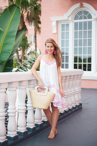 a lonestar state of southern blogger dress shoes bag jewels sandals basket bag summer dress