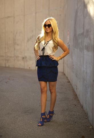angel food t-shirt skirt shoes jewels sunglasses
