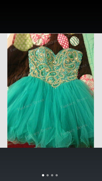 dress green dress prom dress gold dress short prom dress