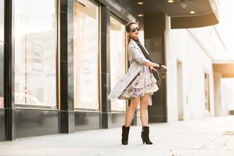 wendy's lookbook blogger jacket coat dress bag shoes