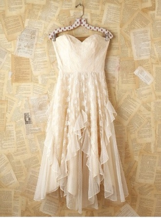dress white dress lace dress country lace wedding dress white lace dress beige dress crochet flowy dress ivory dress layered flowy lace dress shirt dress nude pretty cute cocktail dress tumblr fashion white wow flowers ivory boho style long dress sweetheart dress spring dress beige lace bustier dress bustier strapless dress strapless prom dress lace overlay free people cream dress dainty wedding dress short