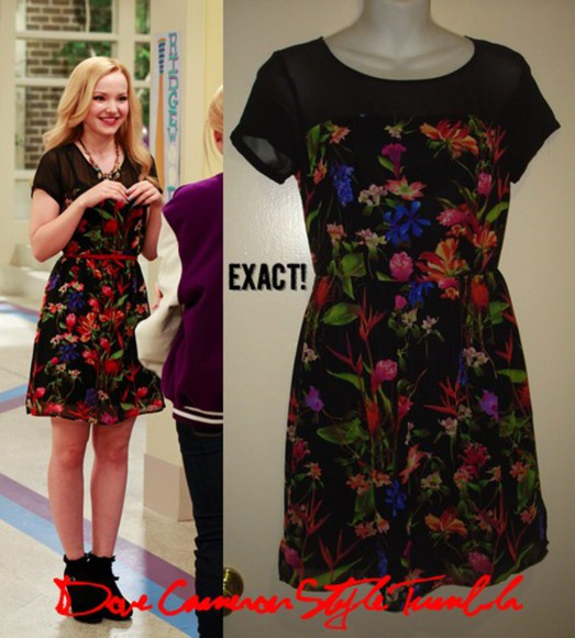 floral dress floral dove cameron