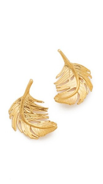 earrings stud earrings gold jewels