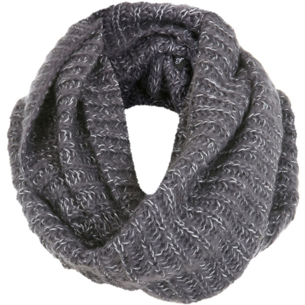 Grey Lurex Snood - Miss Selfridge - Polyvore