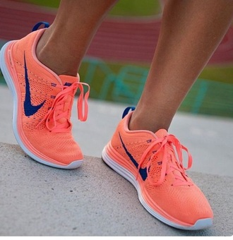 shoes coral navy free flyknit nike nike running shoes running shoes swoosh