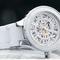 Automatic ceramic white watch - melodi