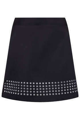 Lazer Cut Satin Skirt - Skirts - Clothing - Topshop