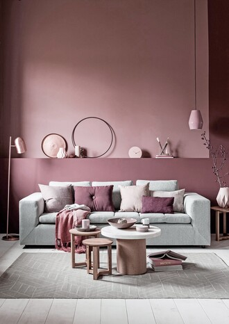 home accessory tumblr home decor furniture home furniture sofa pillow table lamp metallic lamp dusty pink all pink everything