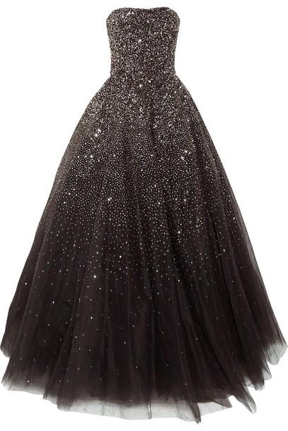 Dress Ball Gown Dress Starry Night Wheretoget