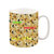 Shibe Doge All Over with Text Mug, Coffee Mug, Tea Cup, Tea Mug, Funny Mug, Meme Mug