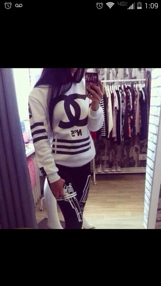 top chanel sweater sweater