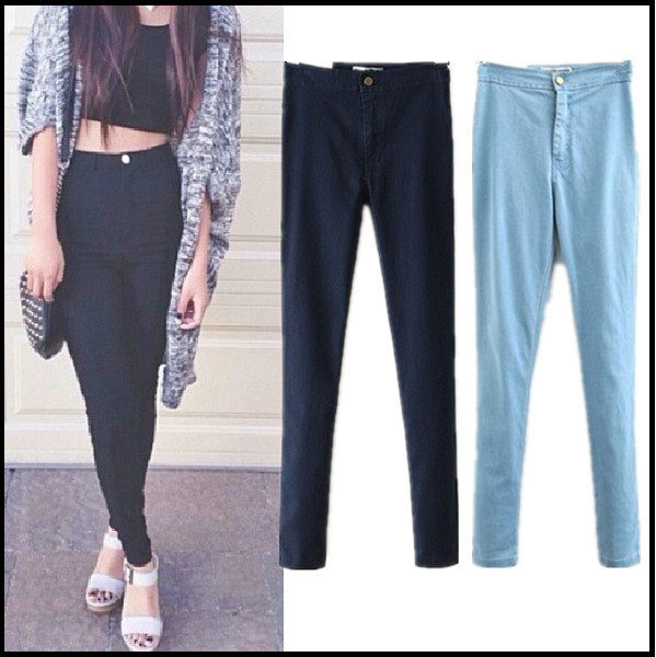 High waist skinny jeans · summah breeeze · online store powered by storenvy