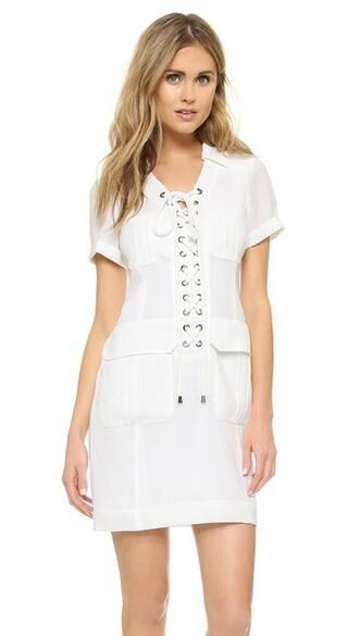 dress sexy white