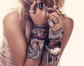 jewels,watch,bracelets,chained bracelet,ring