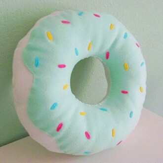 home accessory donut cute pillow home