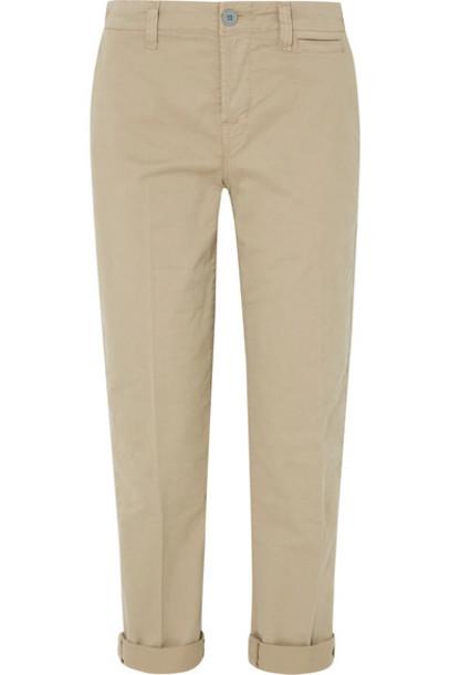 J BRAND pants cotton beige