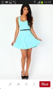dress,mint dress,mini bag,belted dress,simple dress,casual dress,flirty dress,sexy dress