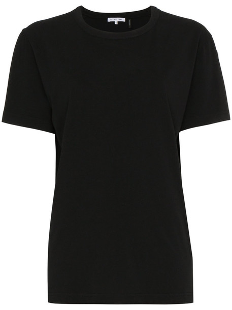 Helmut Lang t-shirt shirt t-shirt women cotton print black top