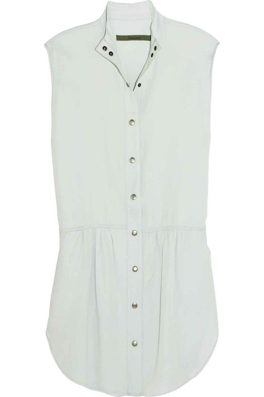ENZA COSTA Brushed-jersey shirt dress – 60% at THE OUTNET.COM