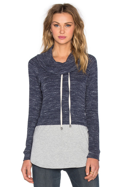 Splendid sweatshirt blue