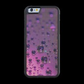 phone cover,water,drops,iphone,cover,love,gift ideas,purple,violet,nature,landscaoe
