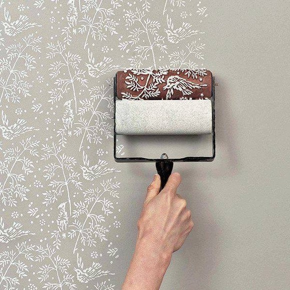 wall white jewels paint decoration