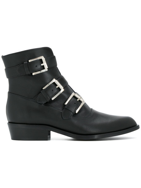 Gianna Meliani women boots leather black shoes