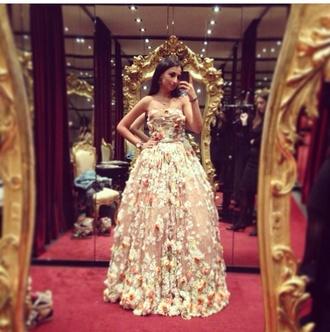 floral dress floral dress long prom dress beautiful gorgeus