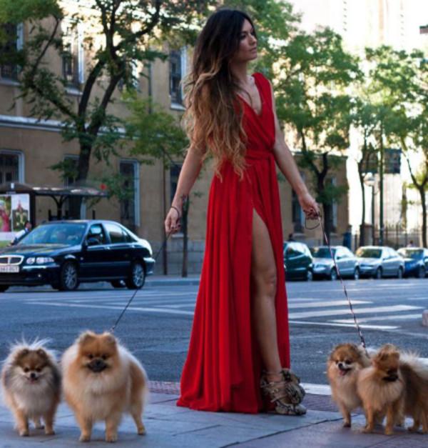 dress red dress prom dress long prom dress long dress
