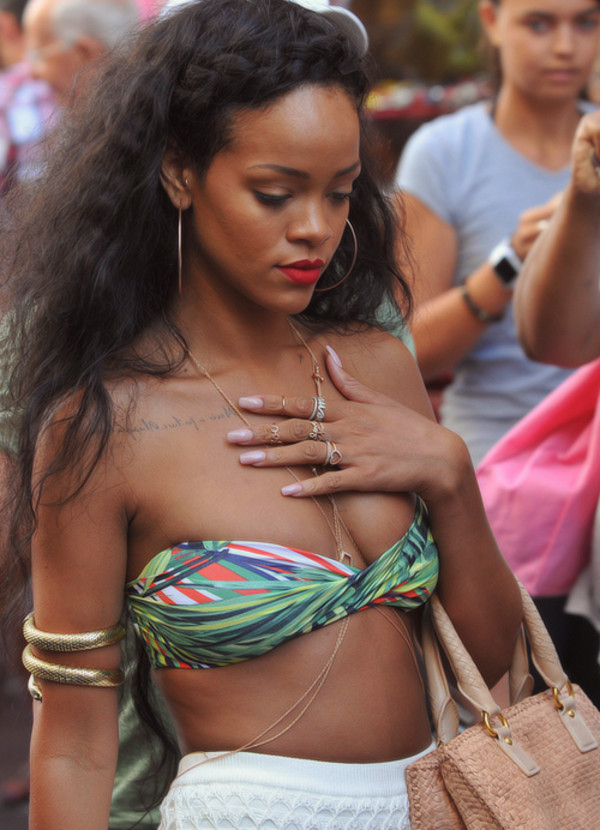 jewels rihanna swimwear rihanna arm bracelet
