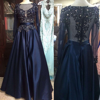 dress prom prom dress blue navy navy dress maxi royal princess dress pretty cool cute amazing fashion style stylish love maxi dress long long dress crystal lace lace dress tulle dress satin satin dress trendy girly wow hot sexy sexy dress
