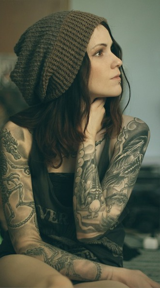 hair accessory beanie bonnet oversized grunge grey gris marron (brown) whool laine winter outfits summer crush