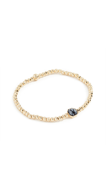 Gorjana Power Gemstone Courage Bracelet in gold