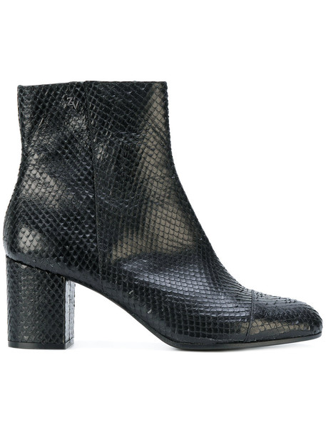 Zadig & Voltaire women leather black shoes