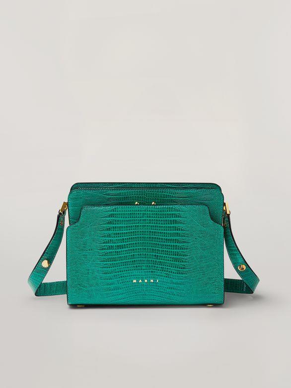 MARNI Trunk Bag trunk reverse shoulder bag in lizard-print calfskin