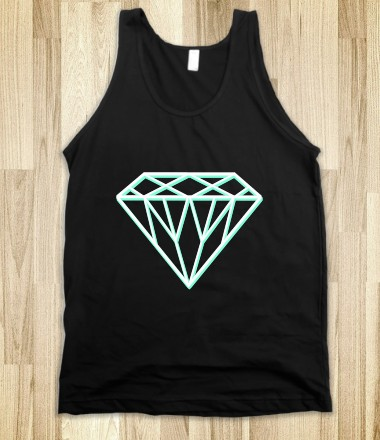 3D Tiffany Diamond - Awesome Fun Shirts by RexLambo - Skreened T-shirts, Organic Shirts, Hoodies, Kids Tees, Baby One-Pieces and Tote Bags Custom T-Shirts, Organic Shirts, Hoodies, Novelty Gifts, Kids Apparel, Baby One-Pieces | Skreened - Ethical Custom Apparel